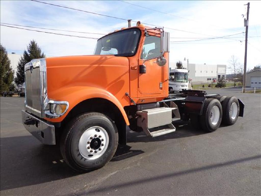 USED 2006 INTERNATIONAL 5900I TANDEM AXLE DAYCAB TRUCK #1064