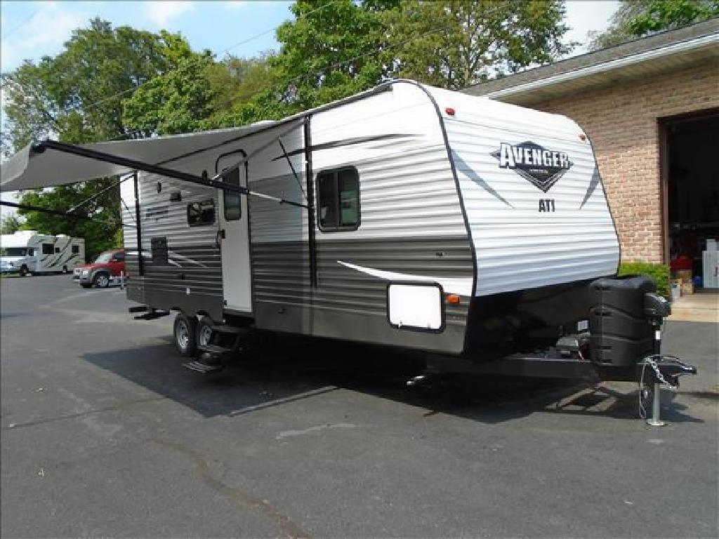 USED 2018 FOREST RIVER AVENGER 21RBS TRAVEL TRAILER RV #1090