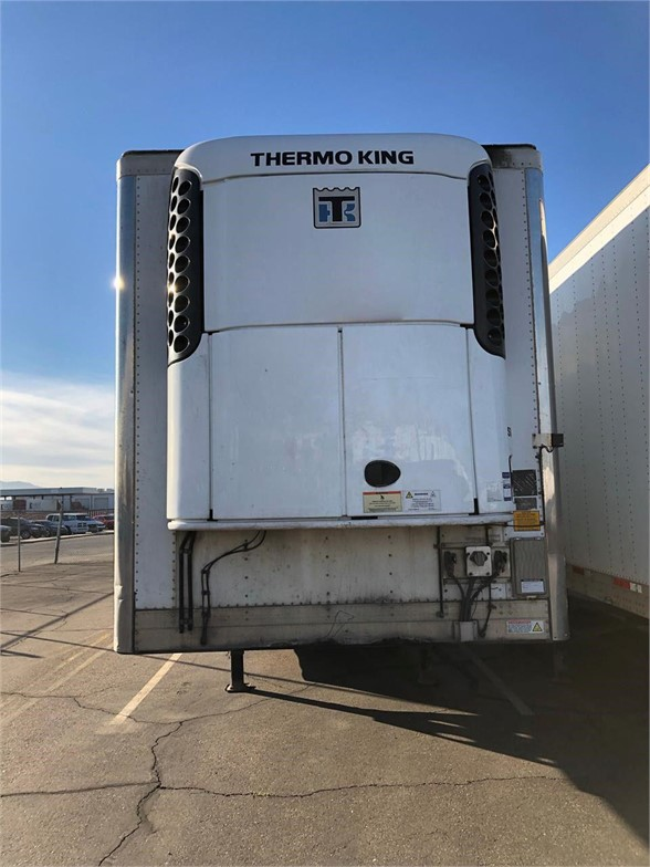 USED 2013 UTILITY 3000R REEFER TRAILER #7707