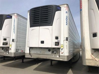 USED 2013 HYUNDAI REEFER (HIGH CUBE) REEFER TRAILER #7952-15