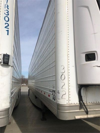 USED 2013 HYUNDAI REEFER (HIGH CUBE) REEFER TRAILER #7952-17
