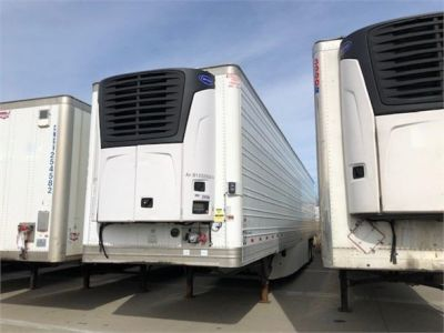USED 2013 HYUNDAI REEFER (HIGH CUBE) REEFER TRAILER #7952-2