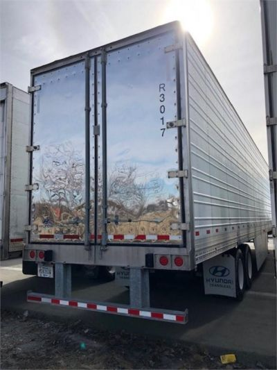 USED 2013 HYUNDAI REEFER (HIGH CUBE) REEFER TRAILER #7952-5