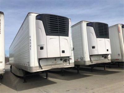 USED 2013 HYUNDAI REEFER (HIGH CUBE) REEFER TRAILER #7952-9