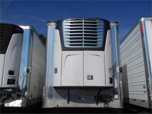 USED 2018 VANGUARD 2018 MODEL W/ CARRIER X4 REEFER TRAILER #8201