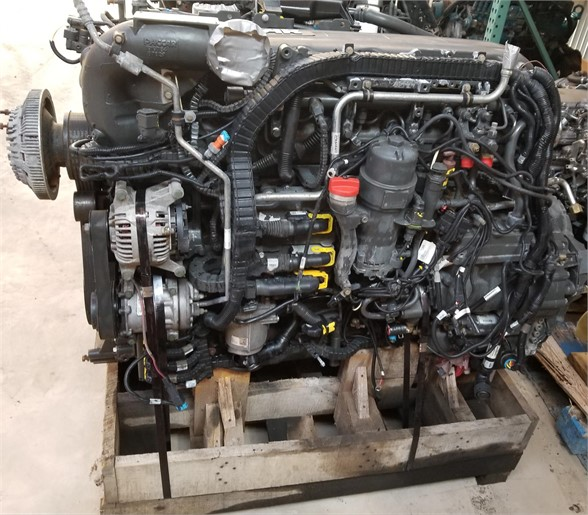 USED 2014 PACCAR MX-13 COMPLETE ENGINE TRUCK ENGINE #1029