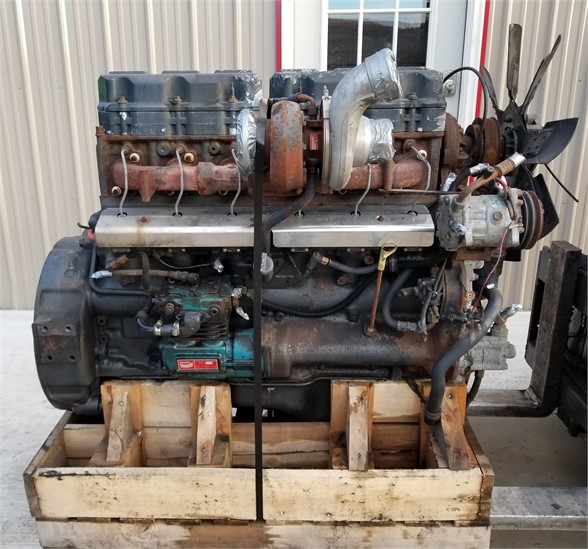 USED 2002 CUMMINS ISM COMPLETE ENGINE TRUCK PARTS #1071