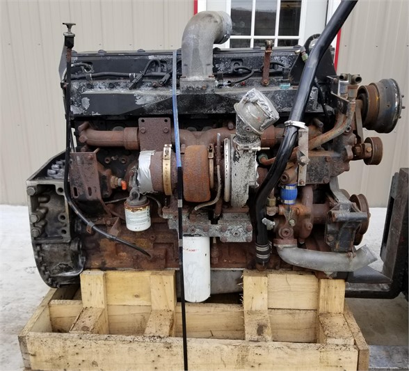USED 2002 CUMMINS ISM COMPLETE ENGINE TRUCK PARTS #1102