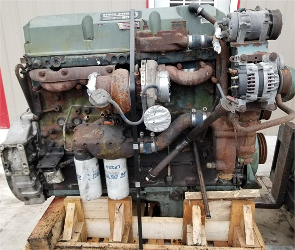 USED 2000 DETROIT SERIES 60 12.7 COMPLETE ENGINE TRUCK PARTS #1104
