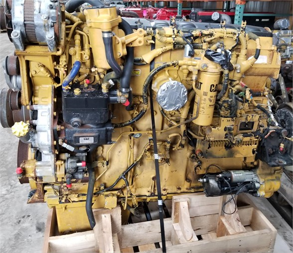USED 2008 CATERPILLAR C15 COMPLETE ENGINE TRUCK PARTS #1119