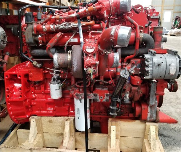 USED 2009 CUMMINS ISM COMPLETE ENGINE TRUCK PARTS #1124