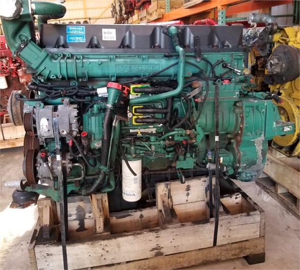 USED 2011 VOLVO D13 COMPLETE ENGINE TRUCK PARTS #1128
