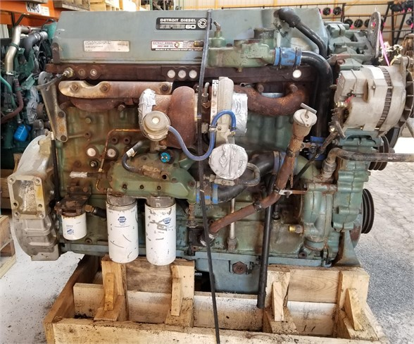 USED 1998 DETROIT SERIES 60 12.7 COMPLETE ENGINE TRUCK PARTS #1147