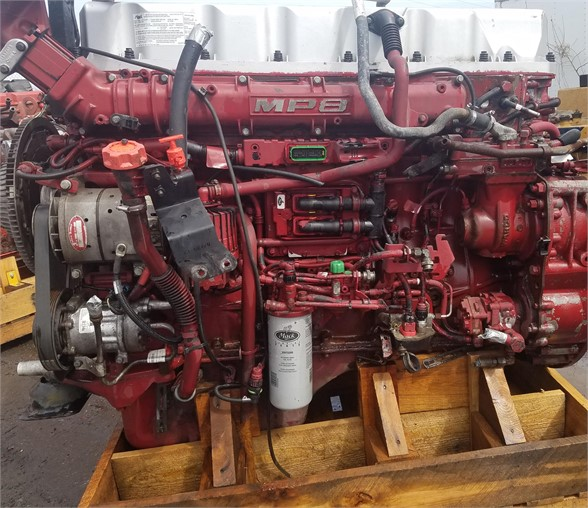 USED 2012 MACK MP8-445C COMPLETE ENGINE TRUCK PARTS #1193