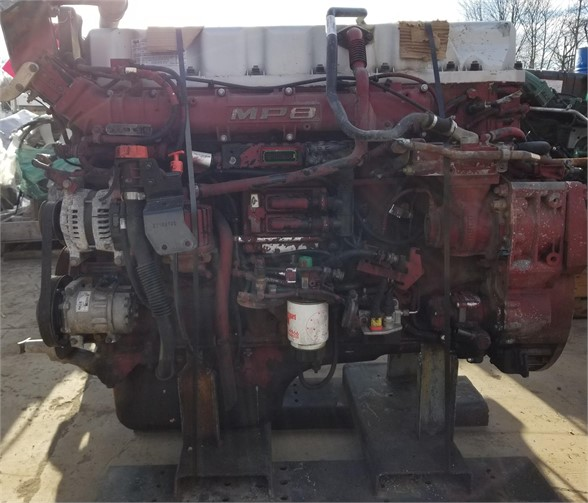 USED 2014 MACK MP8-445E COMPLETE ENGINE TRUCK PARTS #1587