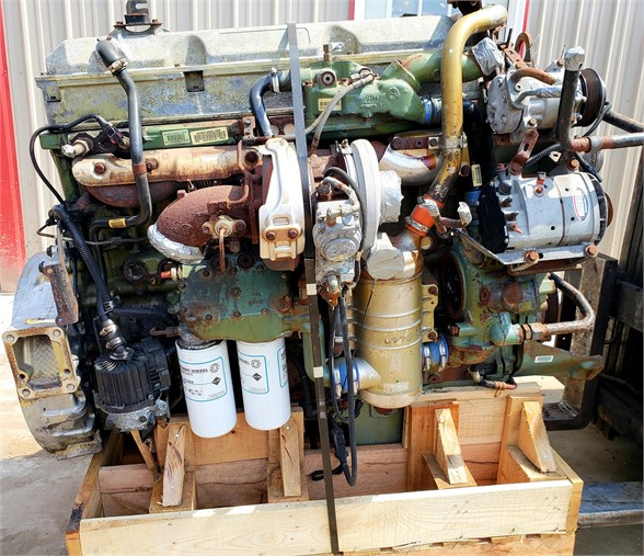 USED 2008 DETROIT SERIES 60 14.0 DDEC VI COMPLETE ENGINE TRUCK PARTS #1631