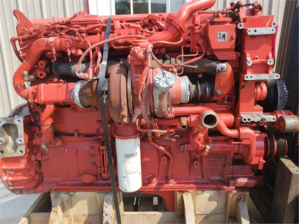 USED 2015 CUMMINS ISX15 COMPLETE ENGINE TRUCK ENGINE #1712