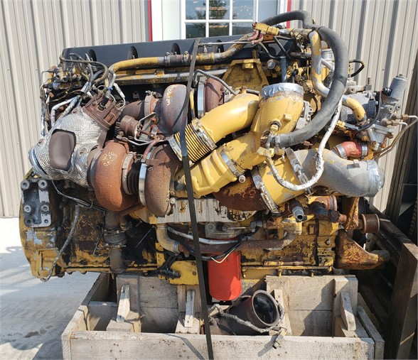 USED 2008 CATERPILLAR C15 COMPLETE ENGINE TRUCK PARTS #1731