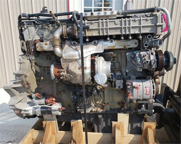USED 2014 DETROIT DD13 COMPLETE ENGINE TRUCK PARTS #1743