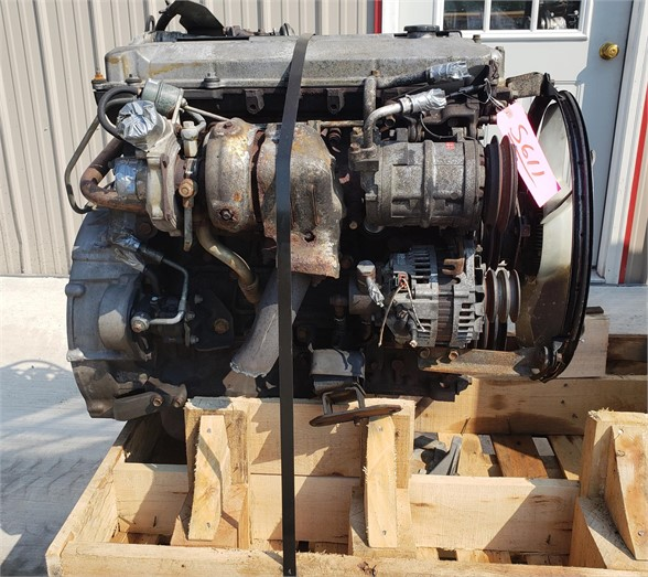 USED 2002 ISUZU 4HE1XS COMPLETE ENGINE TRUCK PARTS #1750