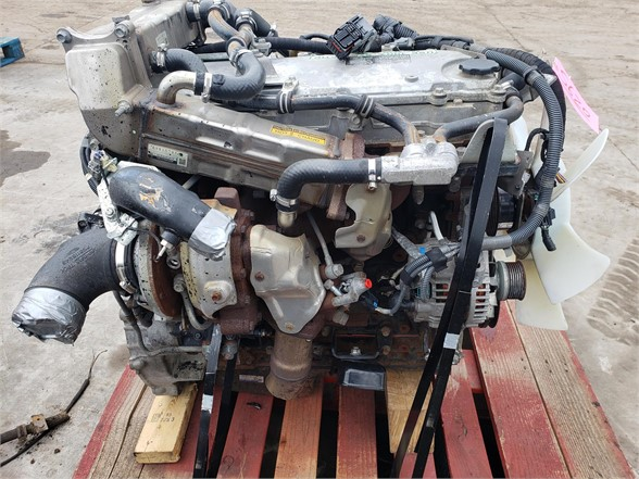 USED 2012 ISUZU 4HE1TC COMPLETE ENGINE TRUCK PARTS #1752