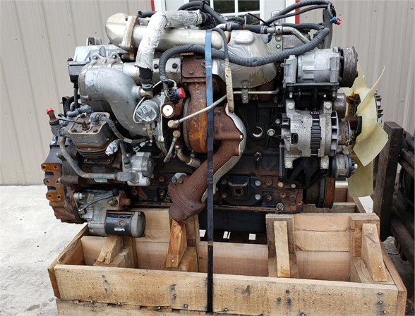 2007 ISUZU 6HK1X ENGINE ASSEMBLY TRUCK PARTS #631615