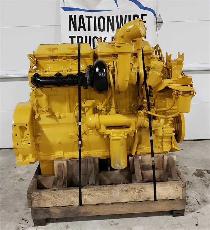 USED 1994 CATERPILLAR 3406B COMPLETE ENGINE TRUCK ENGINE #1802