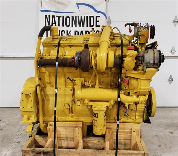 USED 1986 CATERPILLAR 3406B COMPLETE ENGINE TRUCK ENGINE #1811