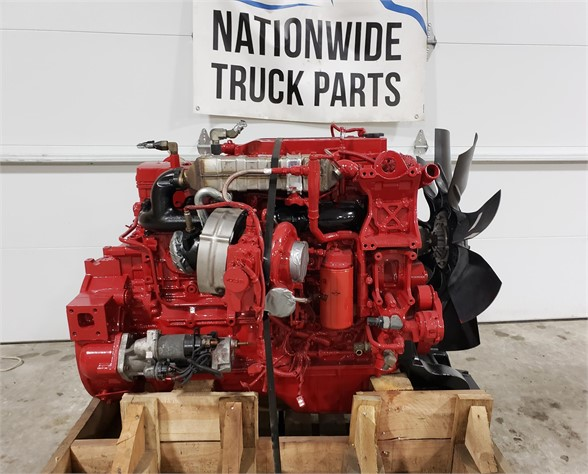 USED 2011 CUMMINS ISB6.7 COMPLETE ENGINE TRUCK PARTS #1826