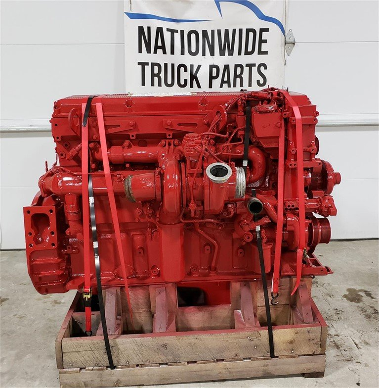 USED 2009 CUMMINS ISX COMPLETE ENGINE TRUCK PARTS #1841
