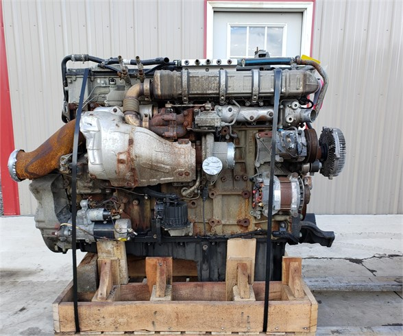 USED 2015 DETROIT DD15 COMPLETE ENGINE TRUCK PARTS #1844