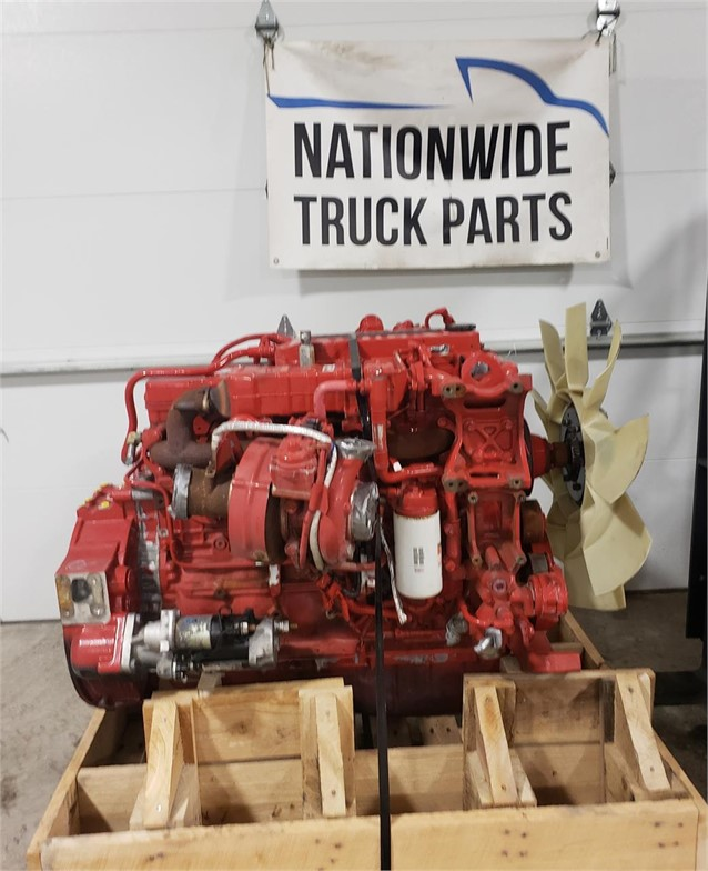 USED 2017 CUMMINS ISB6.7 COMPLETE ENGINE TRUCK PARTS #1874