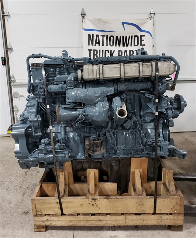 USED 2014 DETROIT DD15 COMPLETE ENGINE TRUCK PARTS #1879