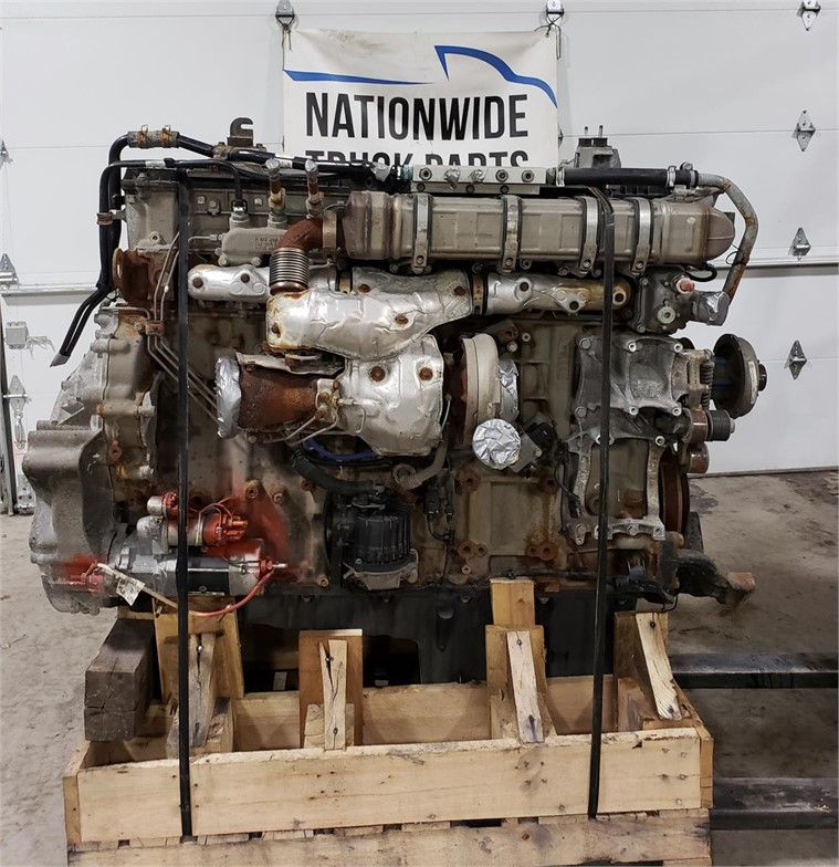 USED 2015 DETROIT DD15 COMPLETE ENGINE TRUCK PARTS #1882