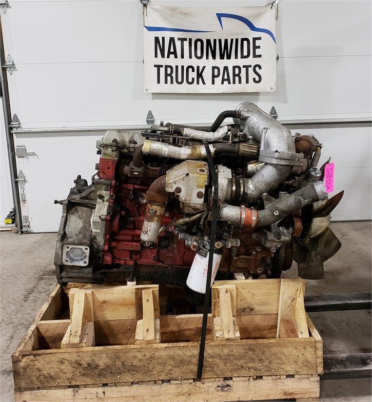 USED 2008 HINO JO8E-TV COMPLETE ENGINE TRUCK PARTS #1883