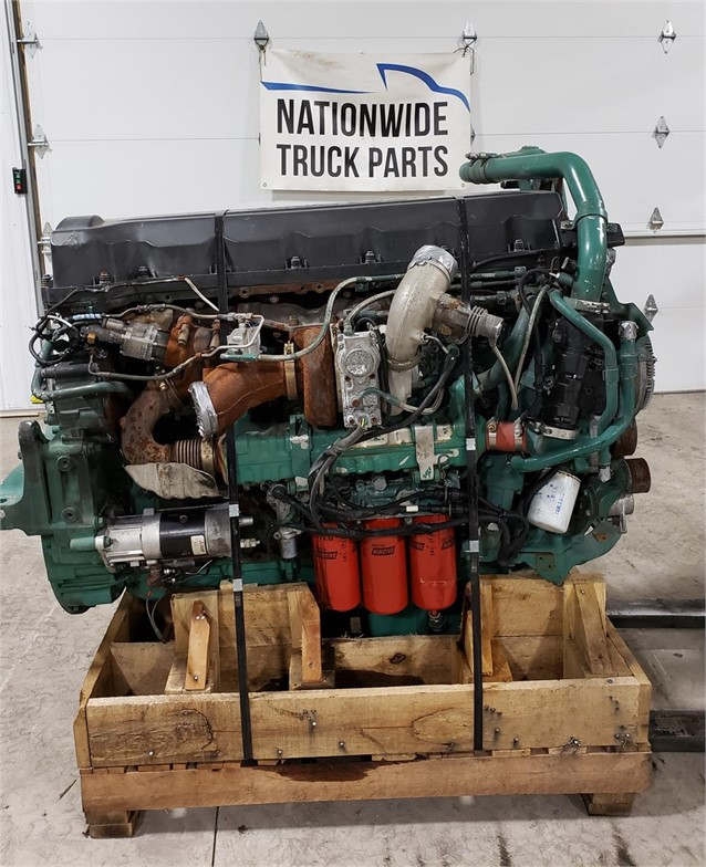 USED 2011 VOLVO D13H COMPLETE ENGINE TRUCK PARTS #1895
