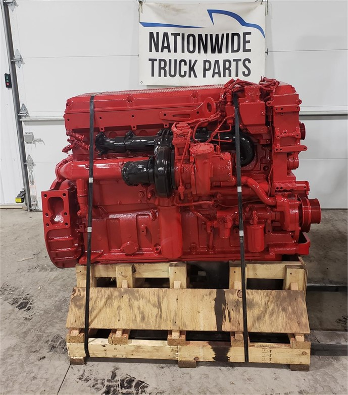 USED 2014 CUMMINS ISX15 COMPLETE ENGINE TRUCK PARTS #1900