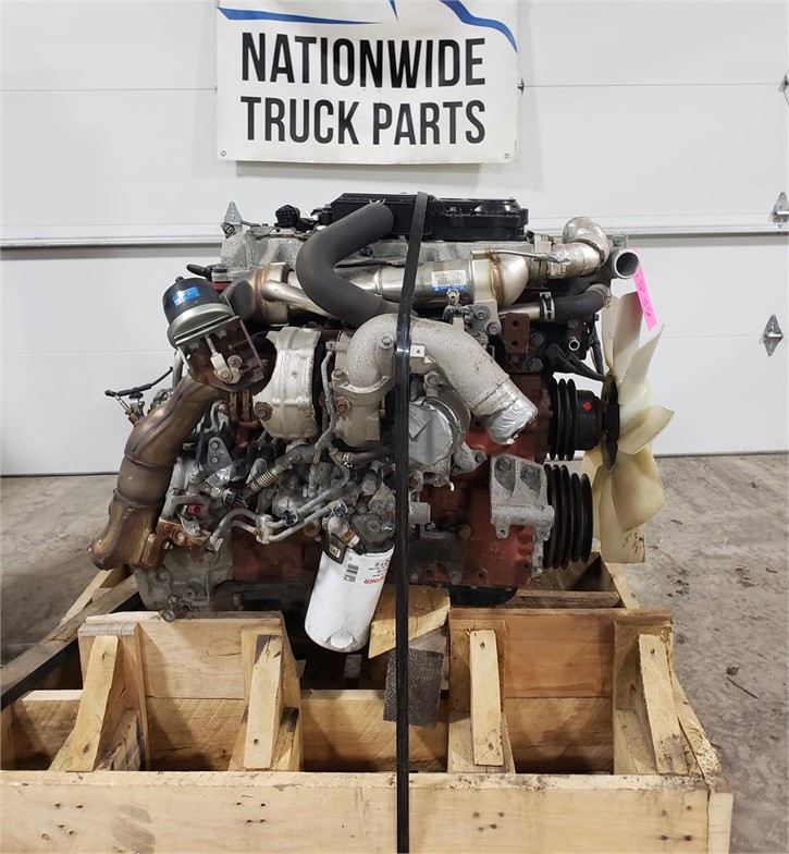 USED 2014 HINO JO5E-TP COMPLETE ENGINE TRUCK PARTS #1914