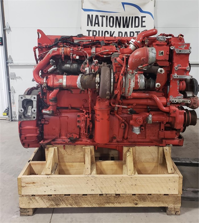 USED 2015 CUMMINS ISX15 COMPLETE ENGINE TRUCK PARTS #1931