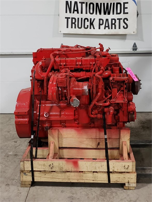 USED 2014 CUMMINS ISL9 COMPLETE ENGINE TRUCK PARTS #1932