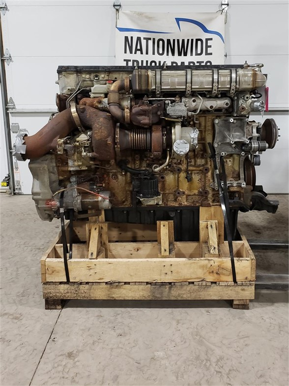 USED 2014 DETROIT DD15 COMPLETE ENGINE TRUCK PARTS #1934