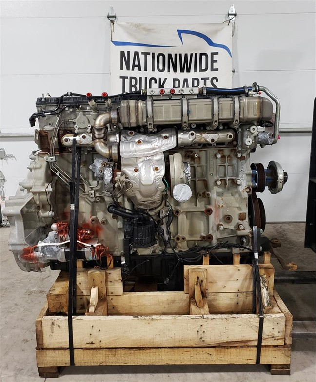 USED 2017 DETROIT DD15 COMPLETE ENGINE TRUCK PARTS #1935