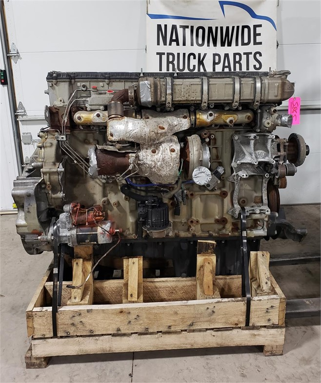 USED 2015 DETROIT DD15 COMPLETE ENGINE TRUCK PARTS #1936