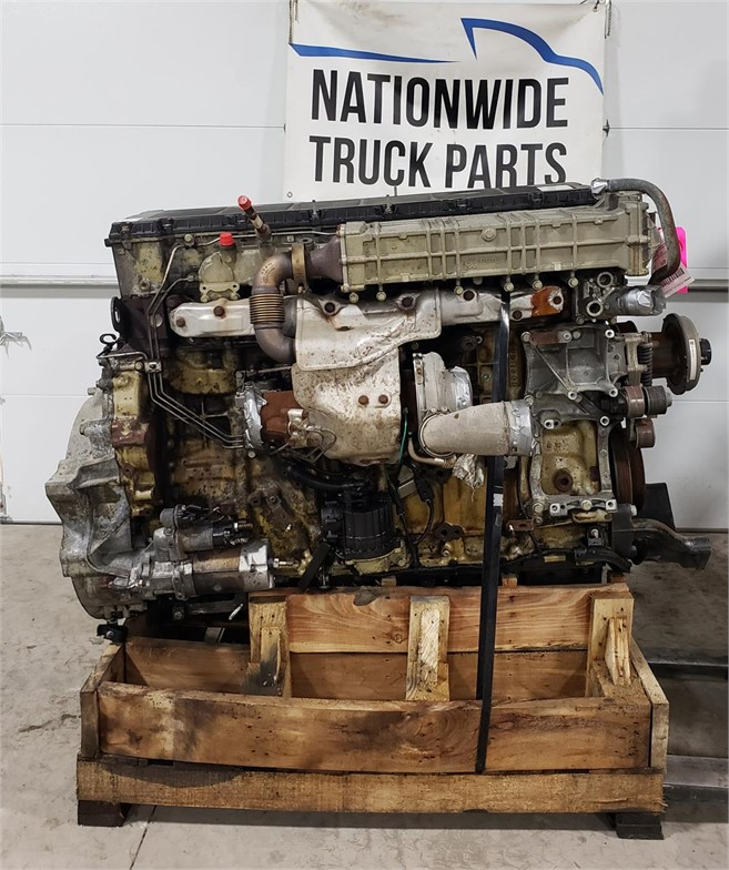 USED 2013 DETROIT DD13 COMPLETE ENGINE TRUCK PARTS #1937