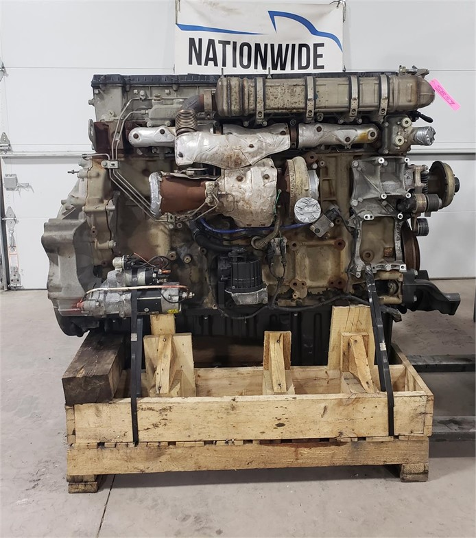 USED 2014 DETROIT DD15 COMPLETE ENGINE TRUCK PARTS #1938