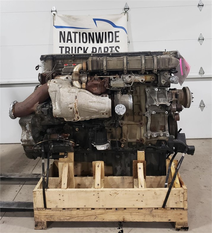USED 2014 DETROIT DD15 COMPLETE ENGINE TRUCK PARTS #1940
