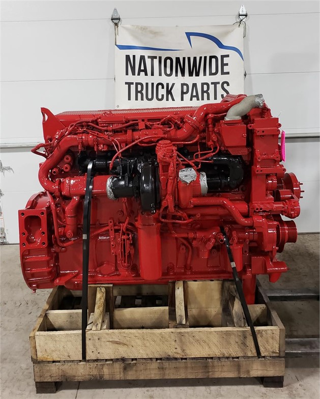 USED 2014 CUMMINS ISX15 COMPLETE ENGINE TRUCK PARTS #1944