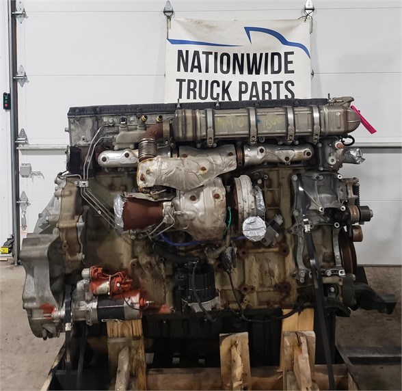 USED 2014 DETROIT DD15 COMPLETE ENGINE TRUCK PARTS #1950