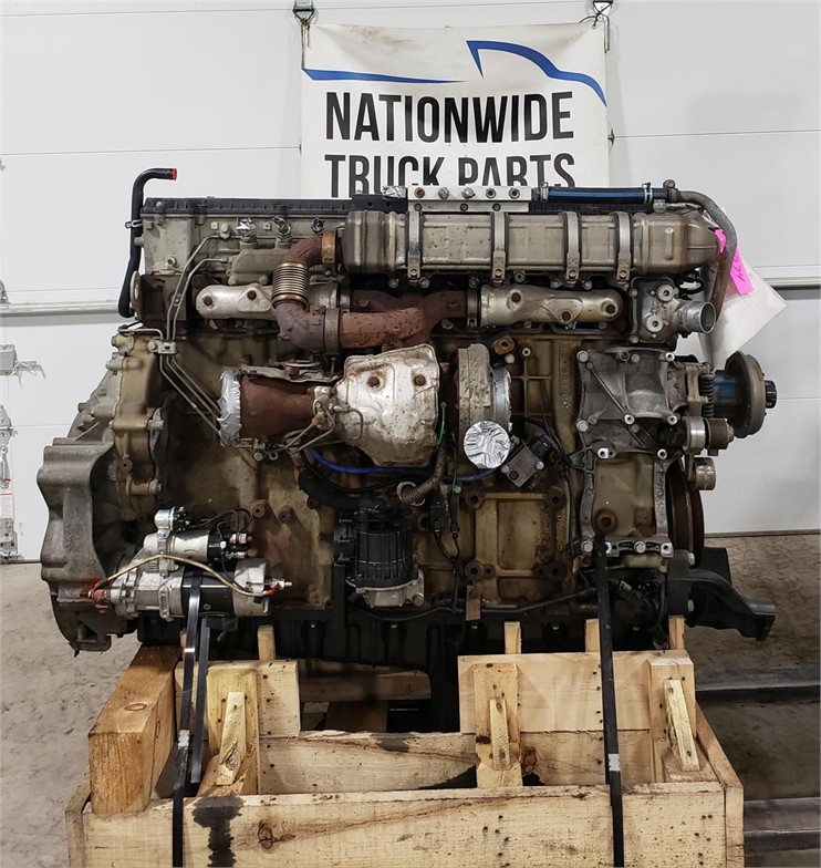 USED 2014 DETROIT DD15 COMPLETE ENGINE TRUCK PARTS #1952