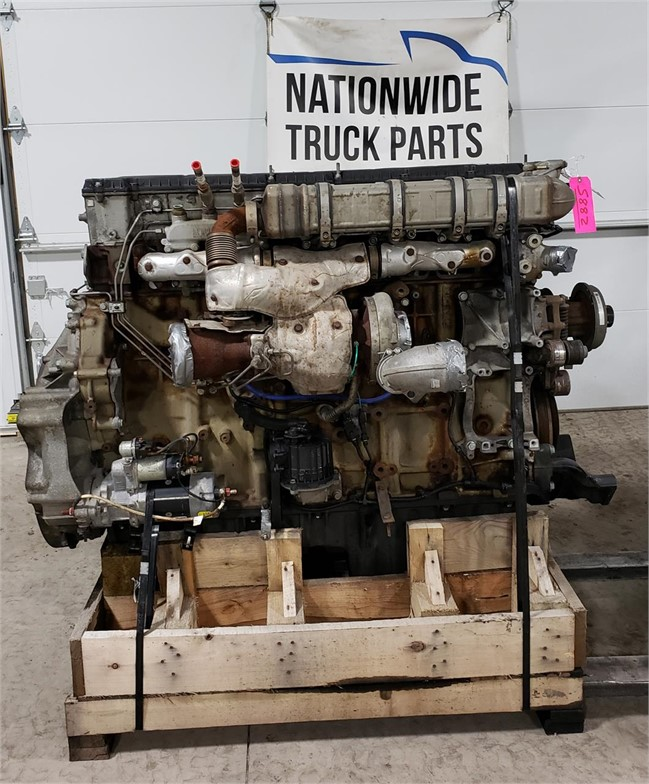 USED 2014 DETROIT DD15 COMPLETE ENGINE TRUCK PARTS #1953